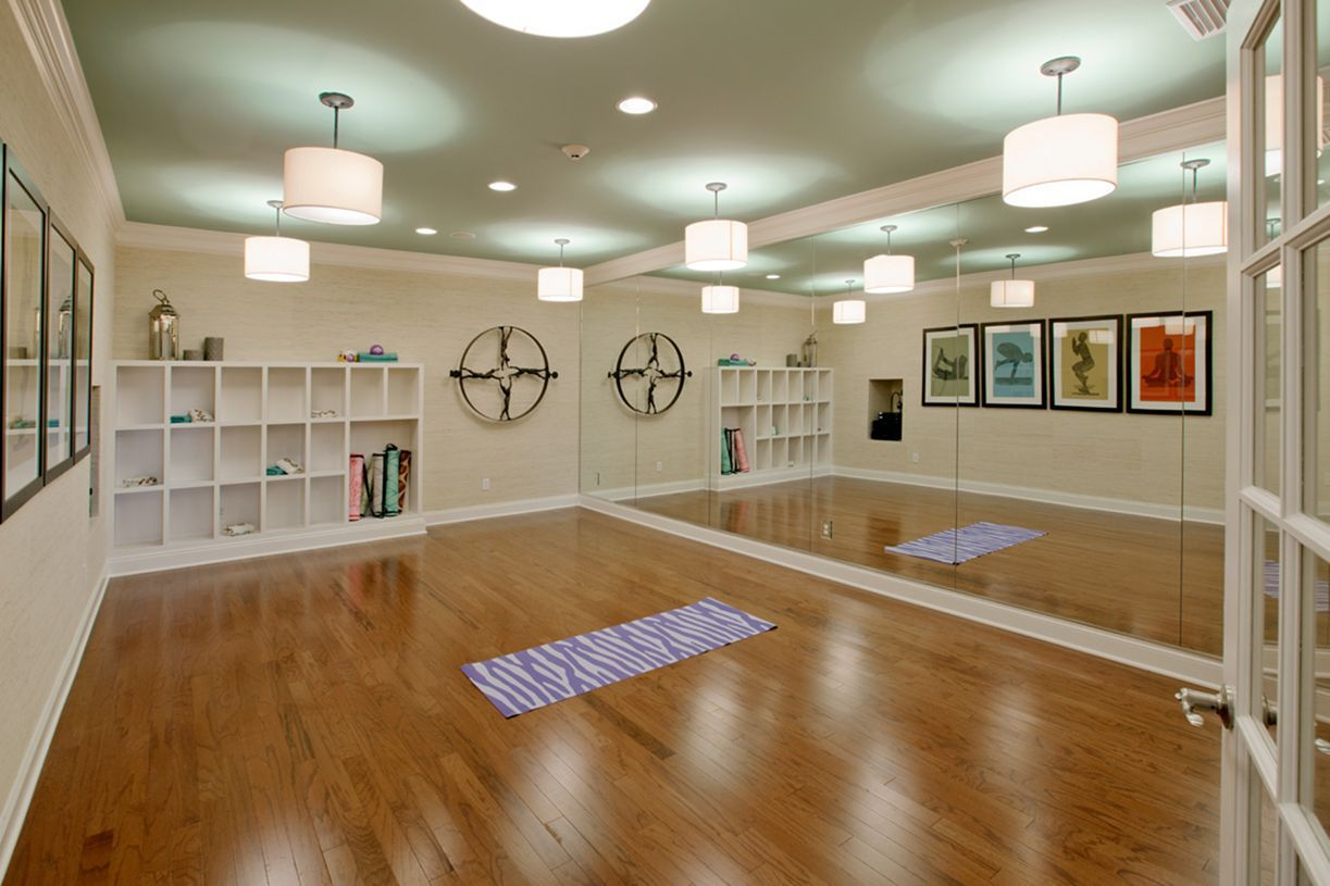 Make your body fit with amazing yoga studio design ideas