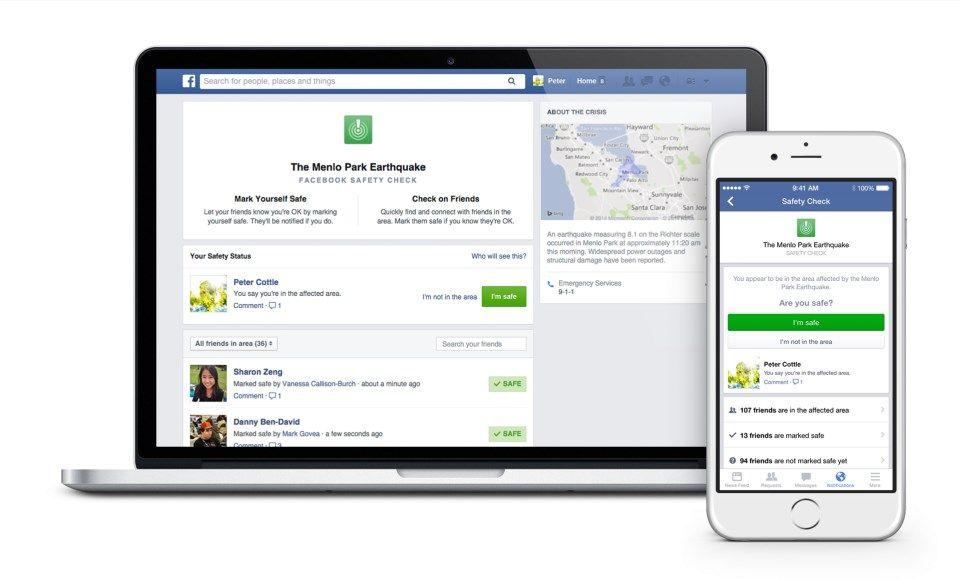 Facebook expande utilização do Centro de Segurança após ataques em Paris