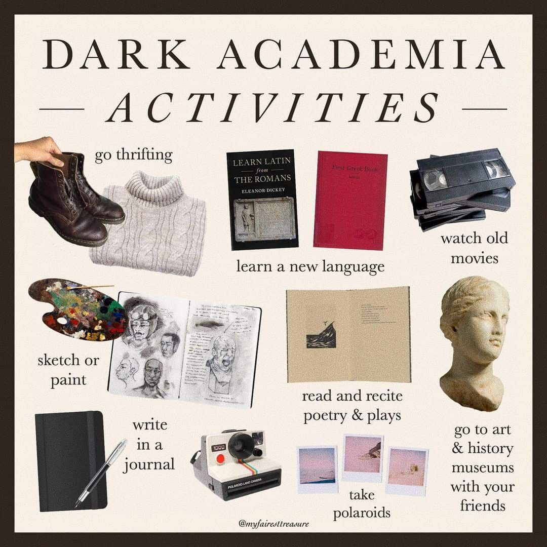 Dark Academia: style, books, and the rest of must-know things!