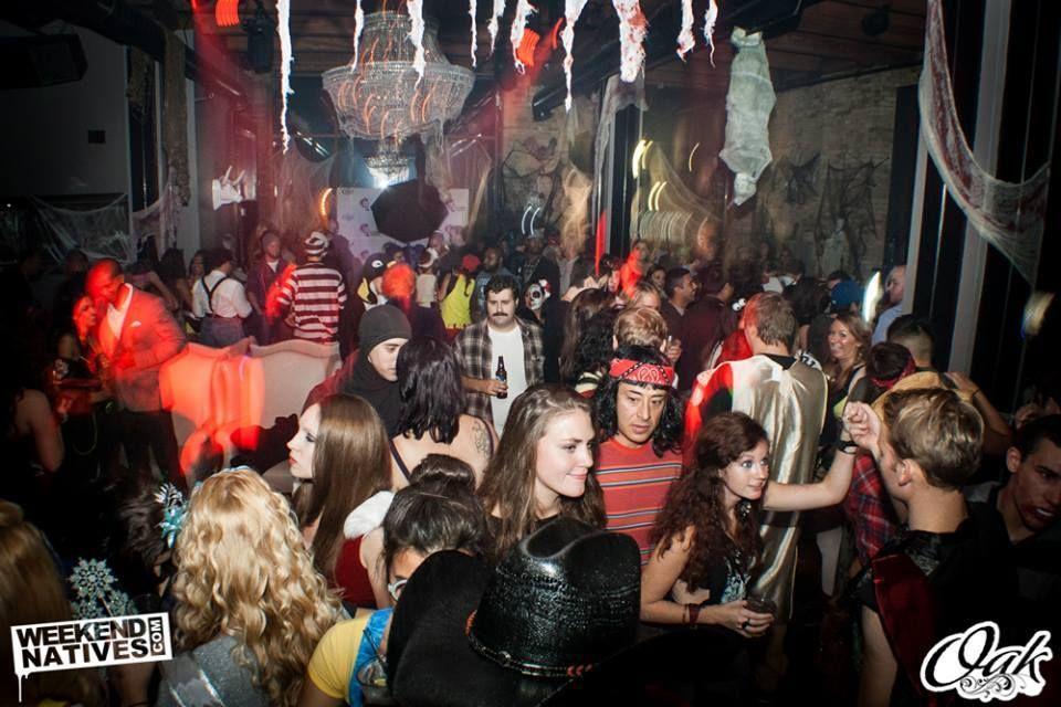 halloween at oak lounge milwaukee weekend natives
