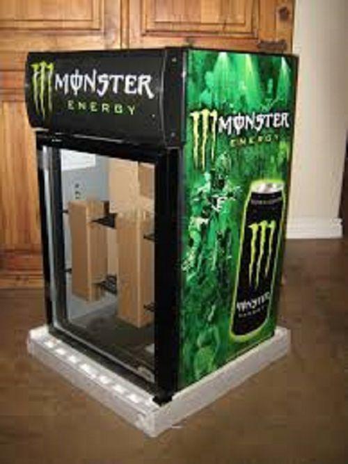 Monster Energy Fridge IDW G5C Counter Top Refrigerator Beverage ...