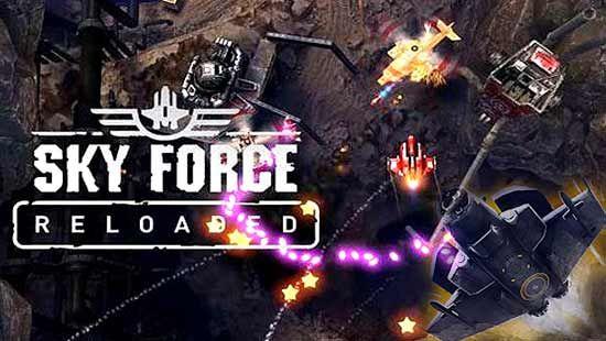 Download for free Sky Force Reloaded MOD APK , Sky Force