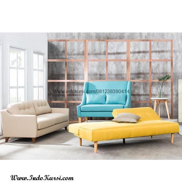 Jual Kursi Sofa Minimalis Desain Ruang Tamu Dengan Jok Busa Yang Nyaman Dan Empuk
