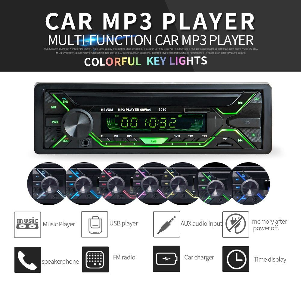 labo car radio stereo player bluetooth phone aux in mp3 fm usb 1 dinlabo car radio stereo player bluetooth phone aux in mp3 fm usb 1