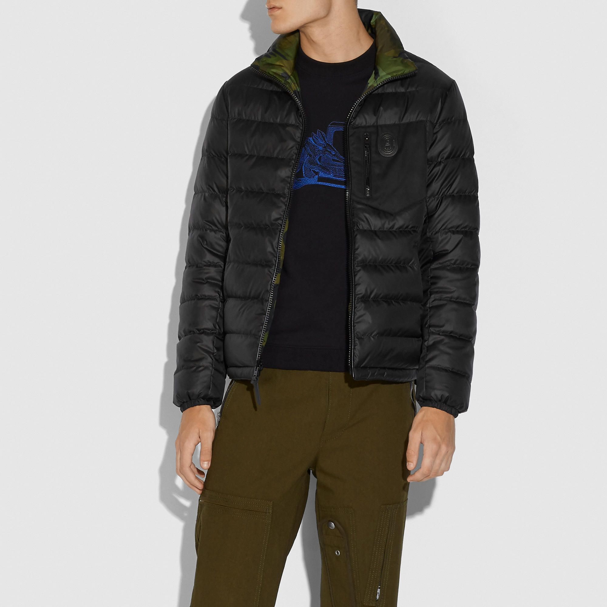 Coach Official Site Designer Handbags Wallets Clothing Menswear Shoes More In 2021 Jackets Puffer Jackets Menswear [ 2000 x 2000 Pixel ]