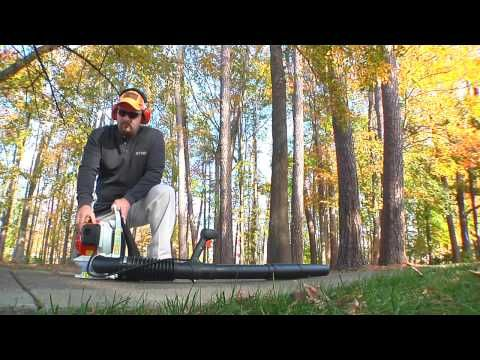 Up Close Look At The Br 200 Backpack Blower Youtube Backpack Blowers Blowers Stihl