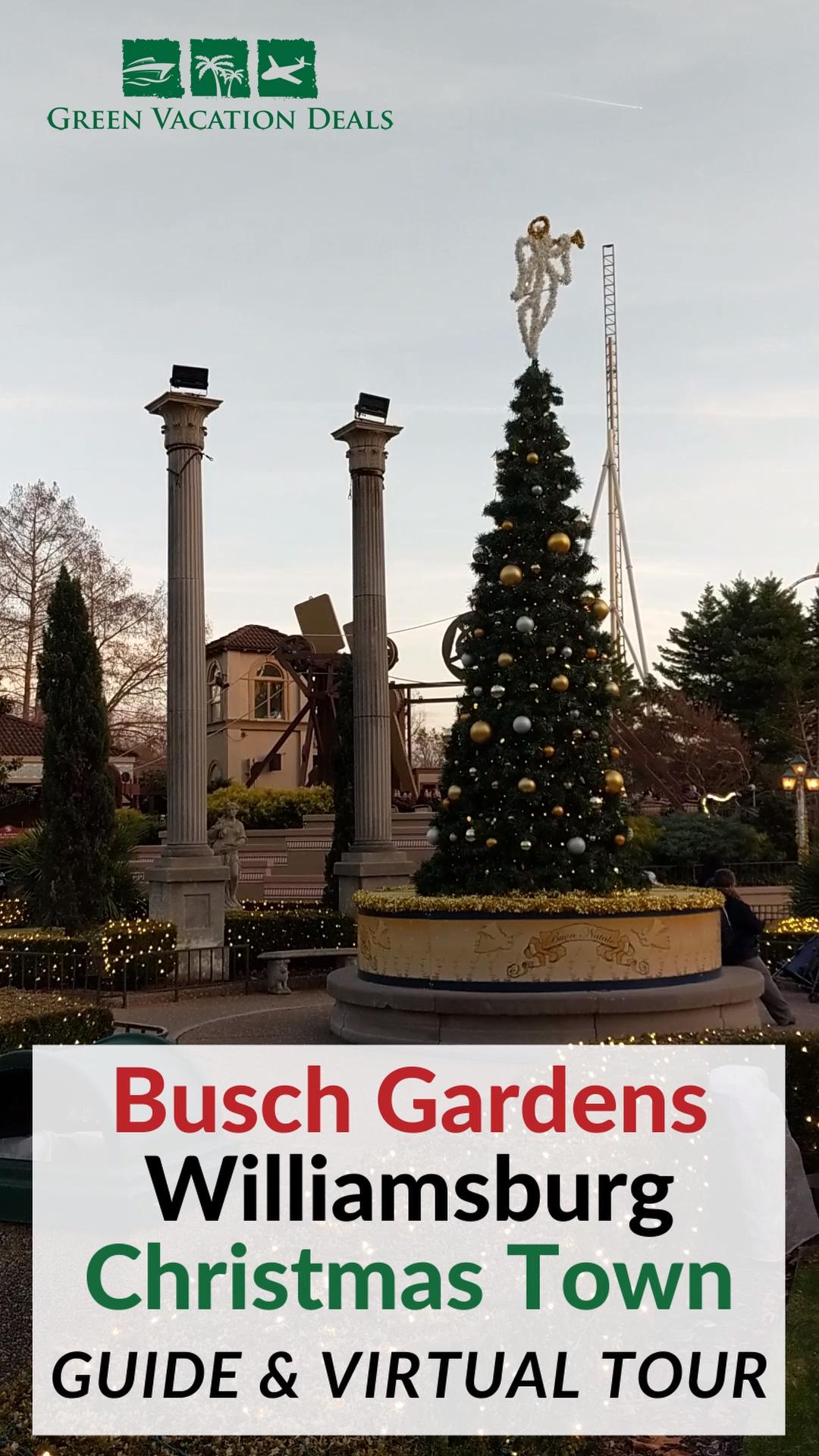 Busch Gardens Williamsburg Christmas Town Promo Code