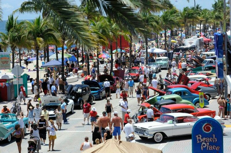 Fort Lauderdale Car Show At The Beach Autos Pinterest Fort - Fort lauderdale car show