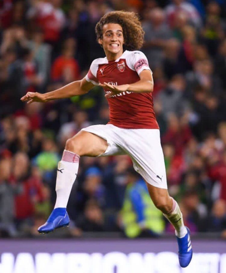 Matteo Guendouzi  -  August Player of the Month