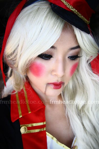 Christmas Makeup Toy Soldier | Christmas Makeup | Pinterest ...