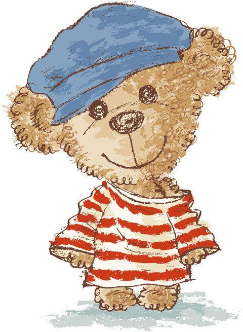 Teddy bear on Behance  Toru Sanogawa