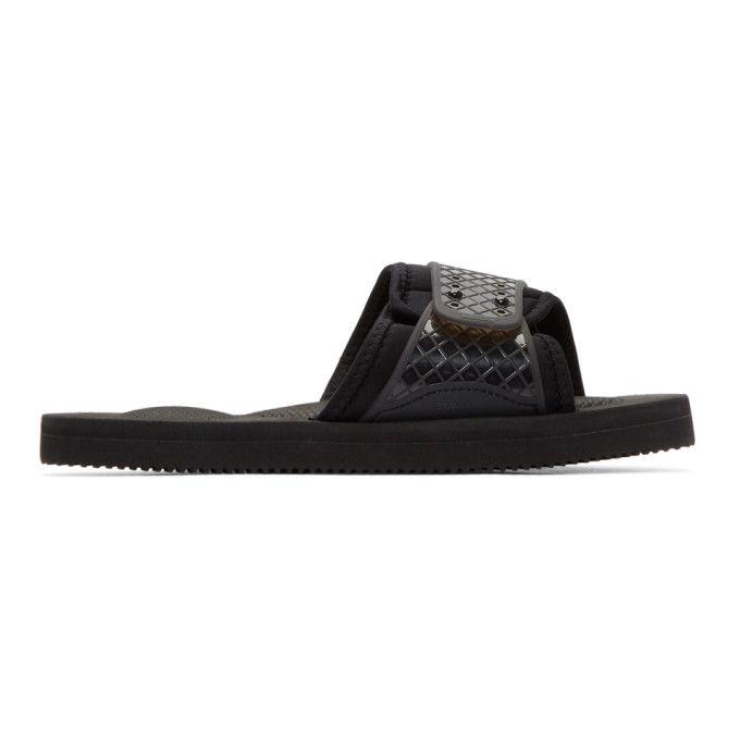 Suicoke Black Siv Sandals BaPOVF