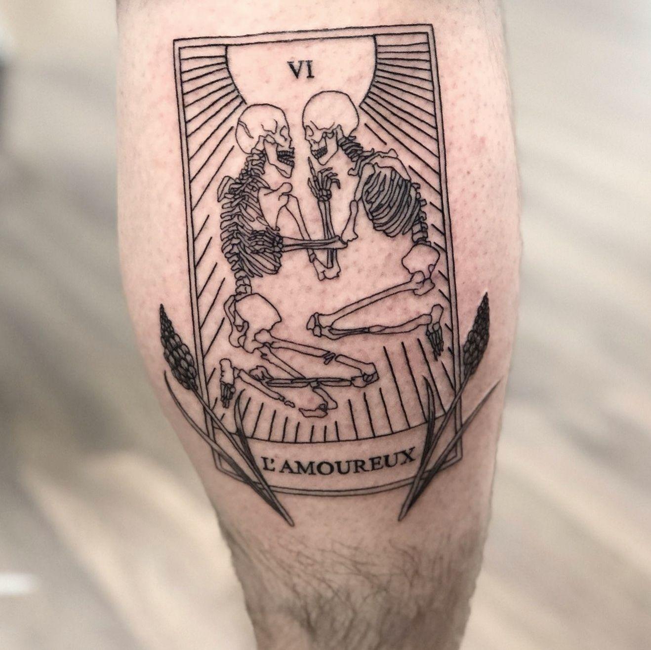 Seems posting tarot tattoos is the tarot tattoo