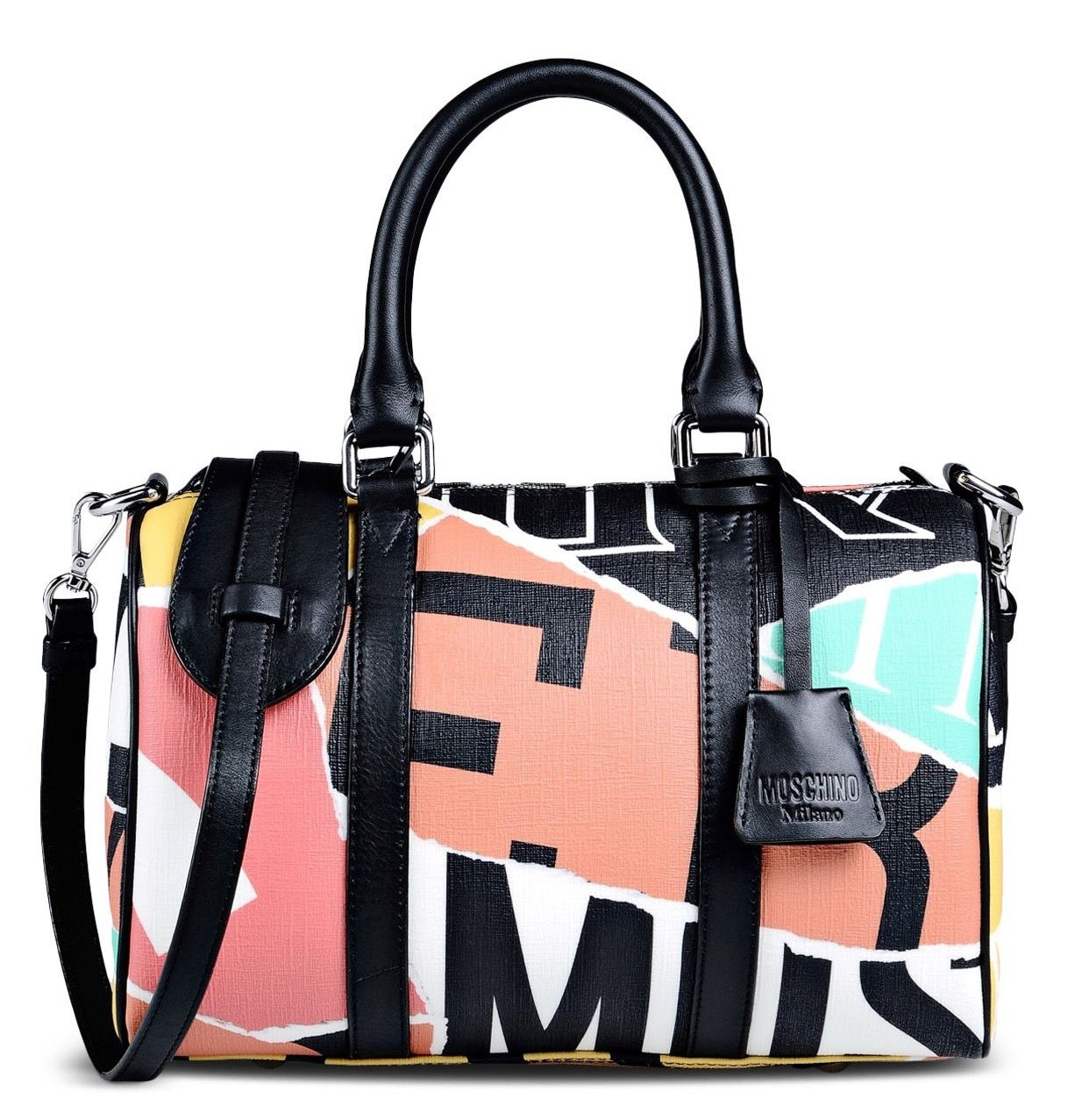 patchwork studded tote - Multicolour Moschino Pay With Visa Cheap Price Free Shipping Lowest Price lxjDku16kH