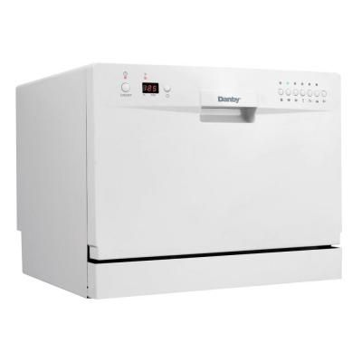 Danby Countertop Dishwasher In White Ddw611wled The Home Depot