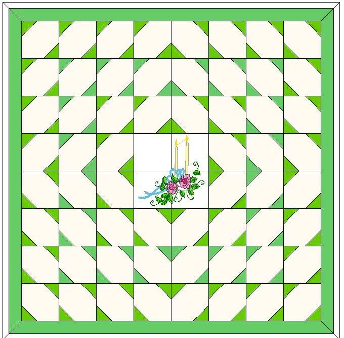 Easy Wedding Signature Quilt Patterns