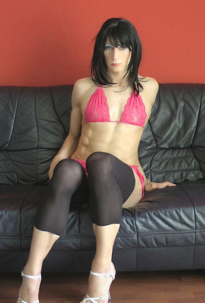 crossdresser anal