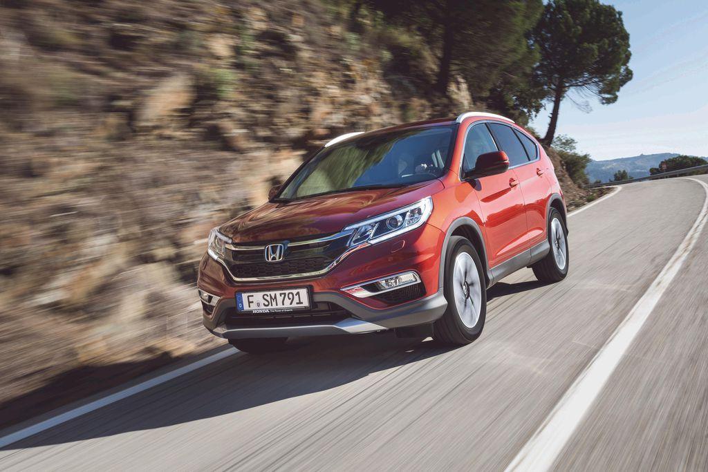 Von 5 auf 9: Honda kommt in die Gänge - Im neuen CR-V sind die Gangwechsel kaum noch spürbar – Der neue, starke wie effiziente 1,6-Liter-Dieselmotor ist eine hervorragende Ergänzung. Ab 35.945 Euro. Zum Auto-Test: http://www.nachrichten.at/anzeigen/motormarkt/auto_tests/Von-5-auf-9-Honda-kommt-in-die-Gaenge;art113,1624221 (Bild: Honda)