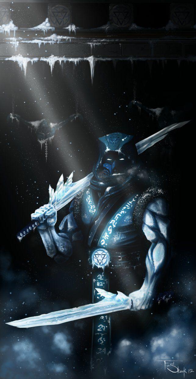 Cryomancer Sub Zero Sub Zero Mortal Kombat Mortal Kombat Characters Scorpion Mortal Kombat