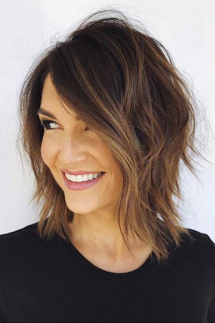 Hairstyles For Older Women 2020 In 2019 Modern Shag