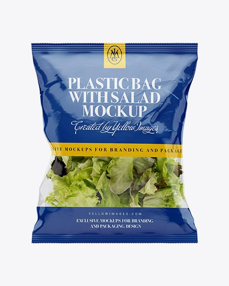 Download Clear Plastic Bag With Salad Mockup In Bag Sack Mockups On Yellow Images Object Mockups Mockup Free Psd Mockup Psd Mockup Free Download