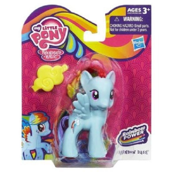 My Little Pony Rainbow Power Rainbow Dash Figure Nib Great Gift