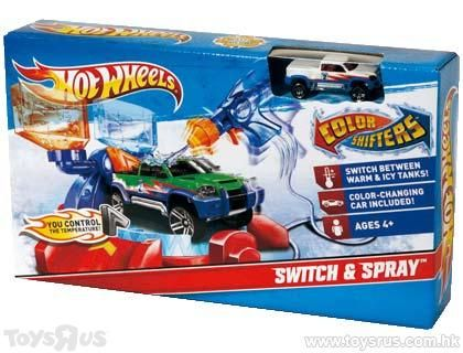 Mattel Hot Wheels Paint Shop Set Hot Toys Kong Toys