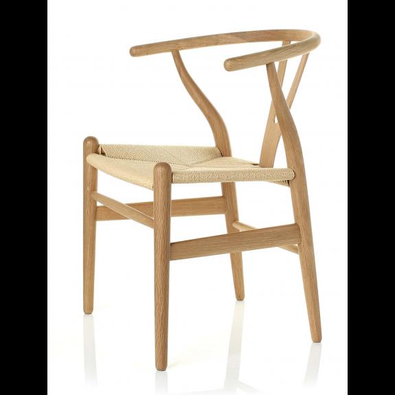 Hans Wegner CH 24 Wishbone chair-Oak - Chairs | Goodfurn ...