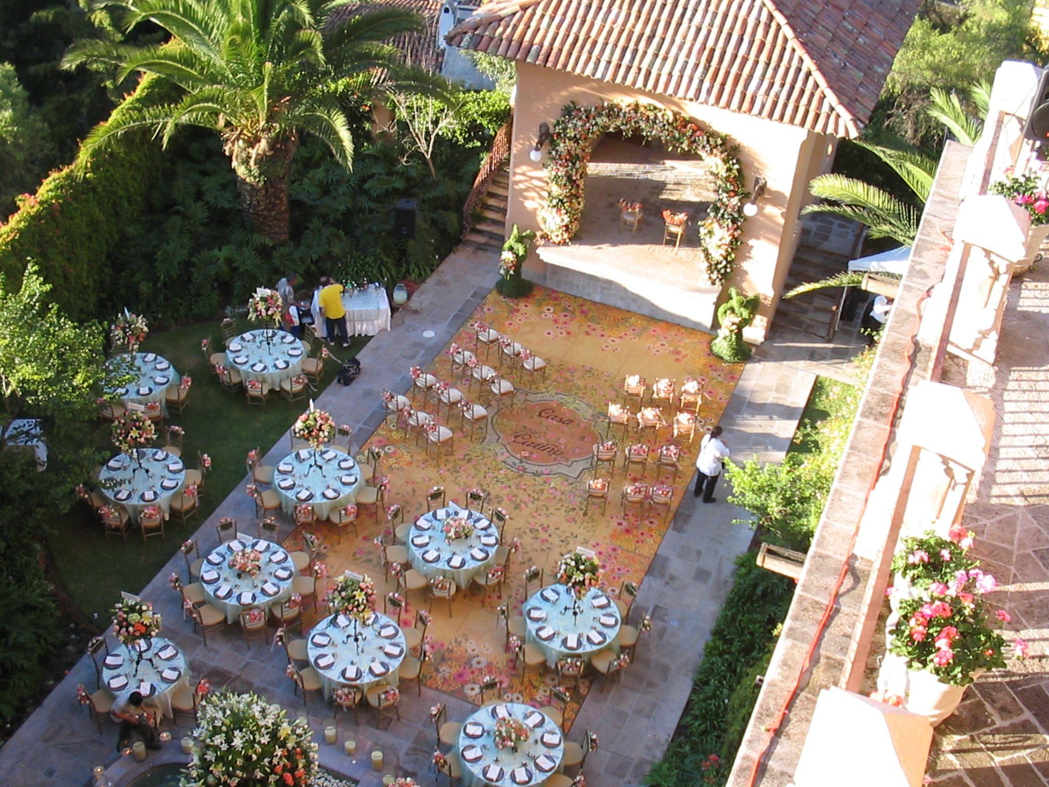 Casa Carino San Miguel De Allende Wedding Reception
