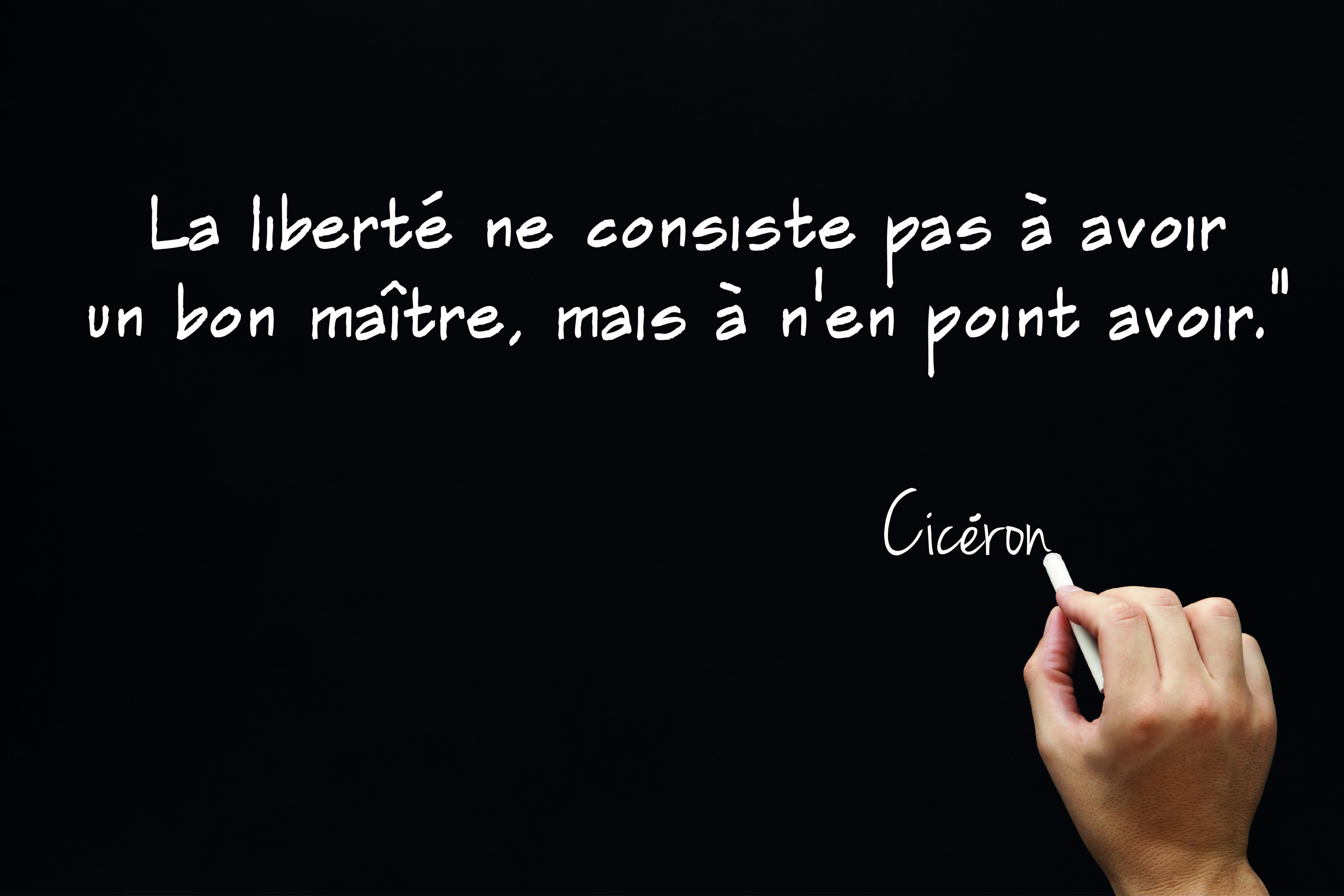 Ciceron Citation Ciceron Proverbe