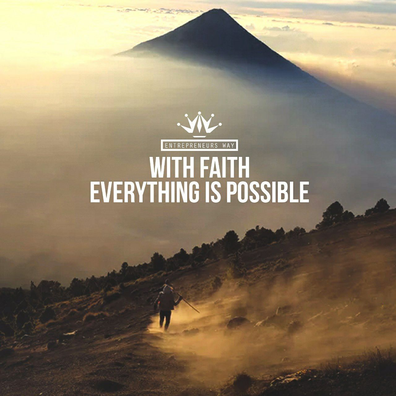 With faith everything is possible . Visit