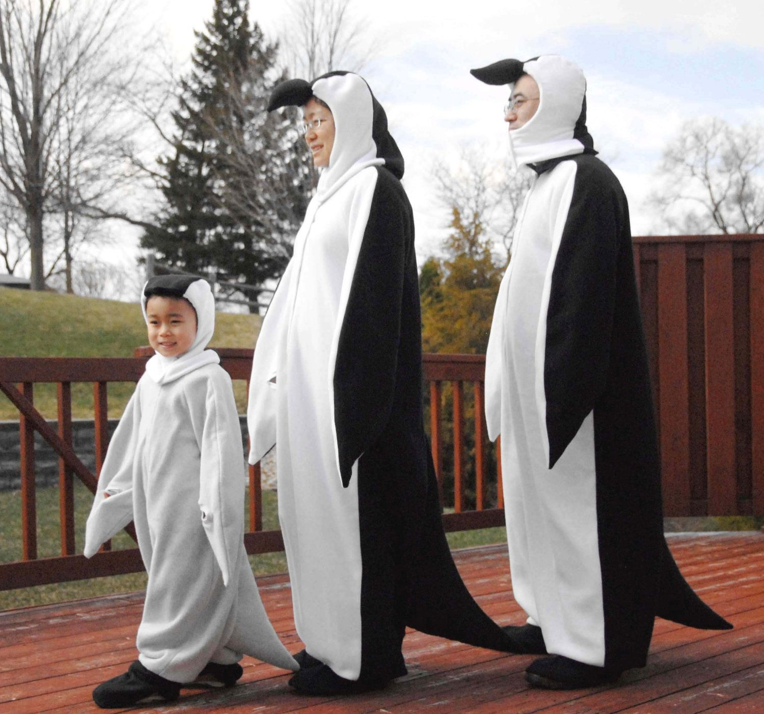 family penguin costumesomg halloween costume - Infant Penguin Halloween Costume