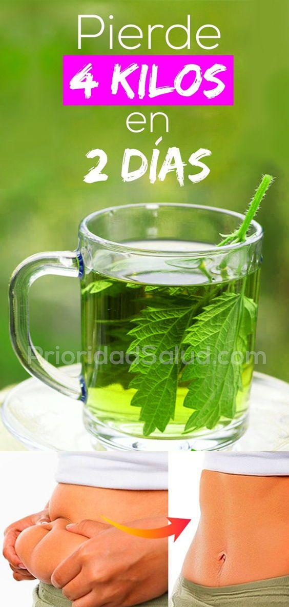dieta para adelgazar 2 kilos en 4 dias