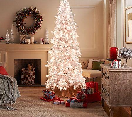 bethlehem lighting christmas trees. Bethlehem Lights 7.5 Flocked Bedford Spruce Christmas Tree Lighting Trees R