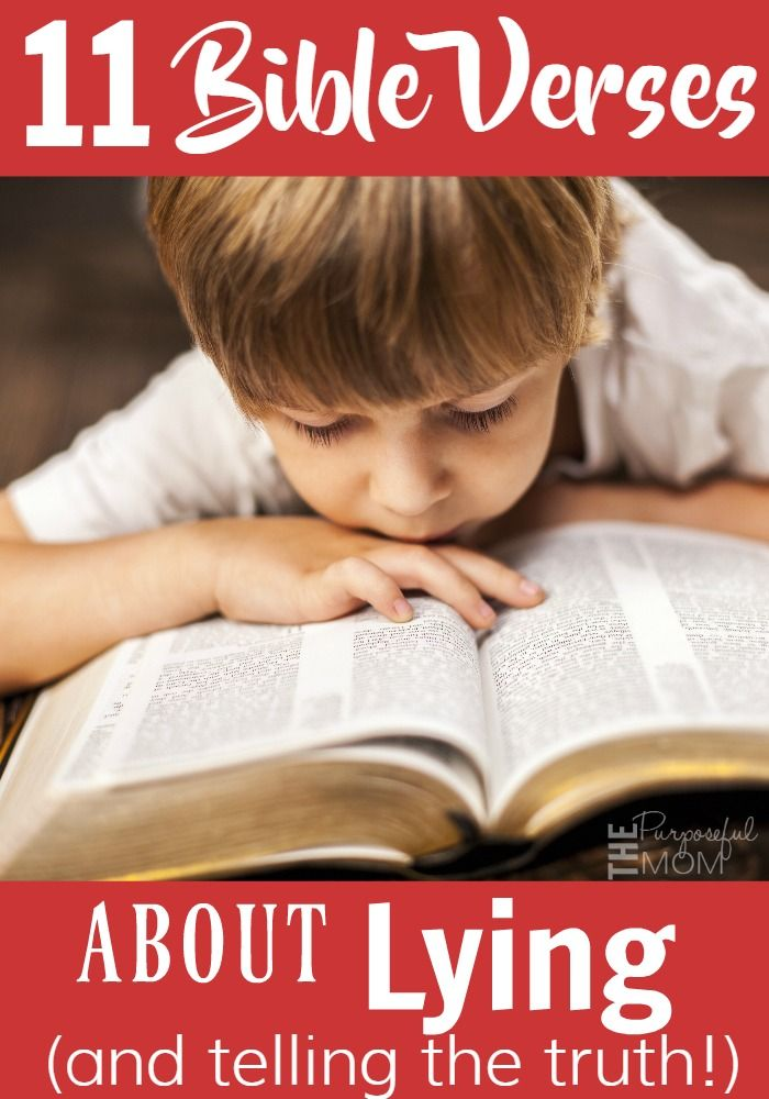 11 Bible Verses That Address Lying And How To Talk To Your Kids