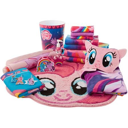 Hasbro S My Little Pony Bathroom Decor Walmart Com My Little