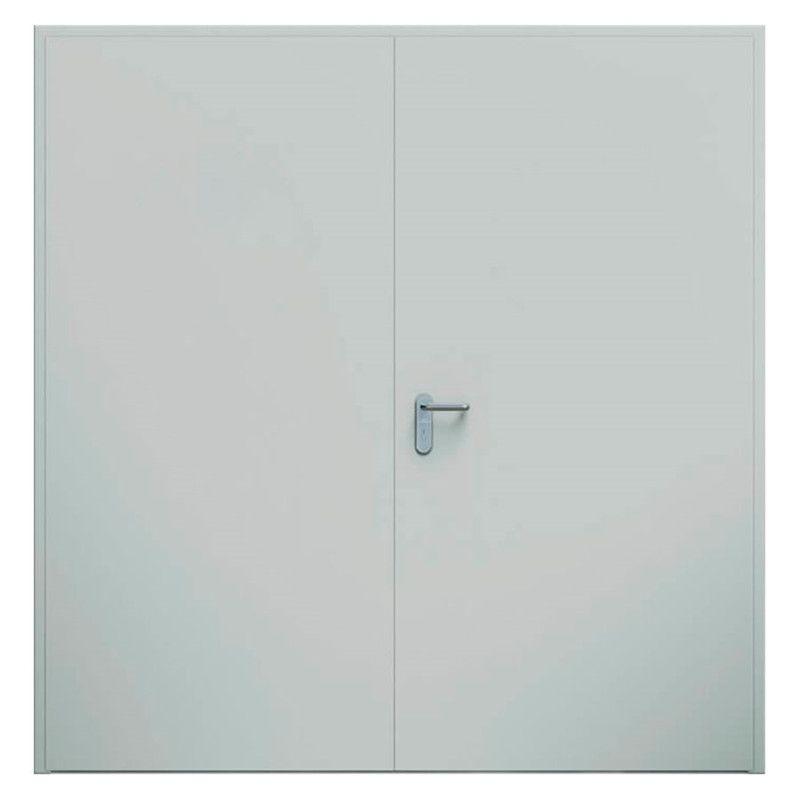 EI2-60 double Steel door incl. TS72 door cover Ral9016, 347100
