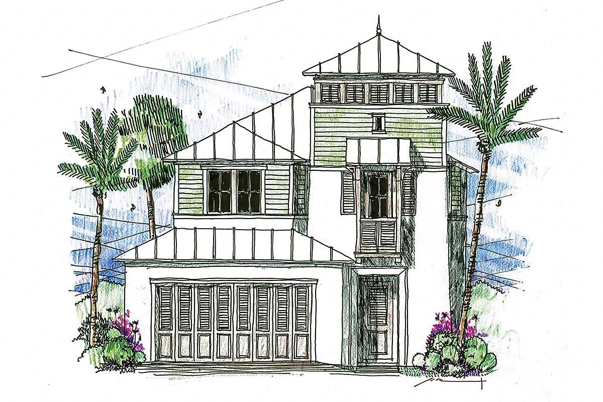 This narrow lot house plan makes a great vacation or beach ... on craftsman house plans with, small house plans with, country house plans with, tiny house plans with, european house plans with, luxury house plans with, modern house plans with, two story house plans with, charleston style house plans with, mediterranean house plans with, log house plans with,
