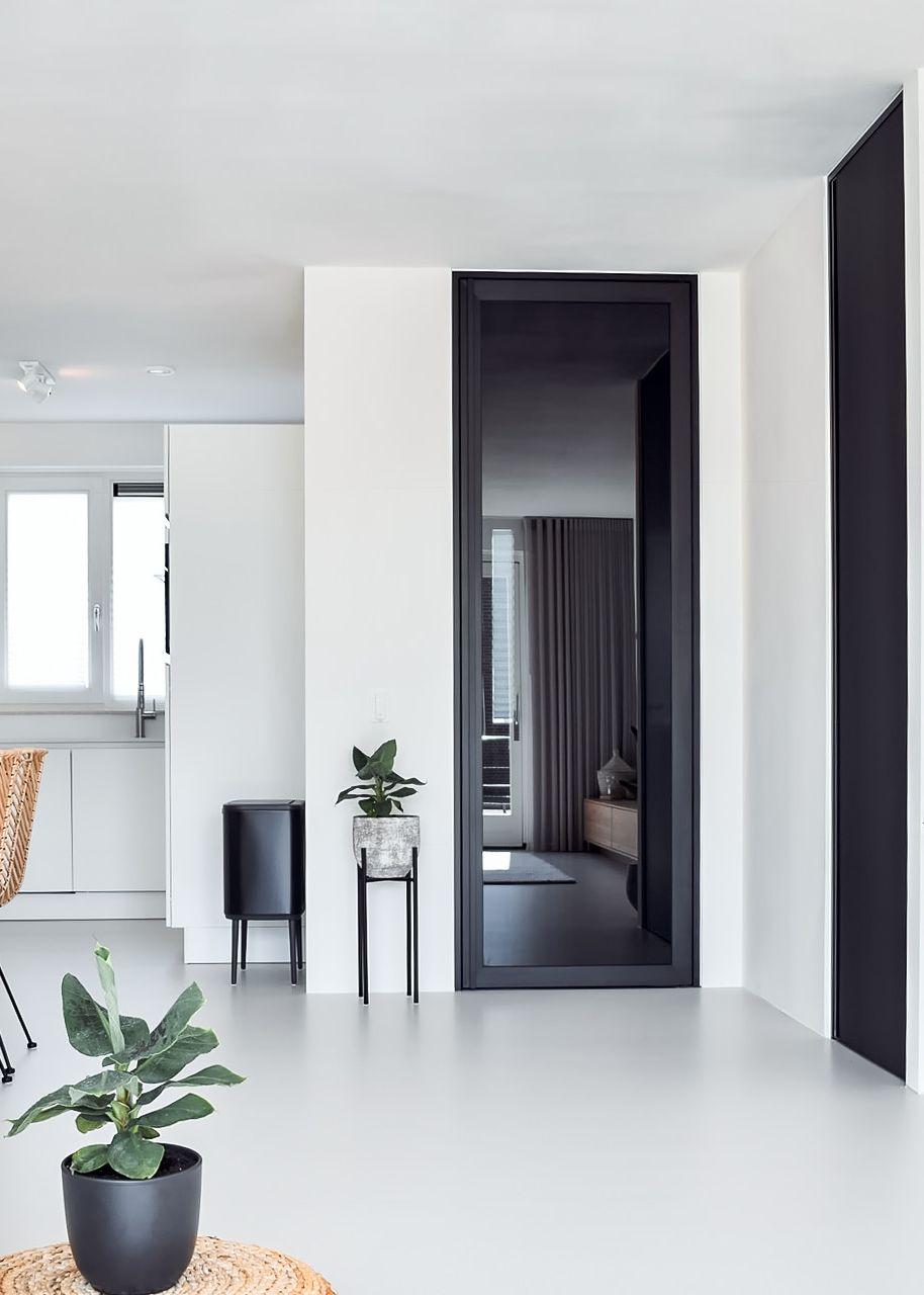 Black Glass Interior Door With Black Anodized Aluminium By Anywaydoors Doors Interior Glass Doors Interior Doors Interior Modern