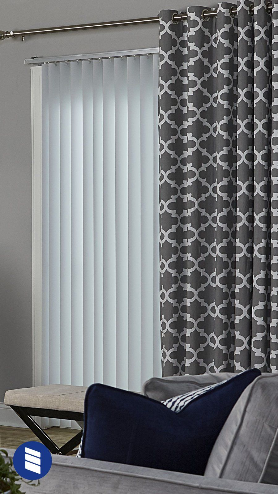 best vertical blinds vertical blinds arent the only option for sliding glass doors try curtains the best blinds alternatives sliding glass doors