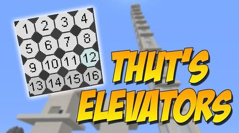 Elevators Mod by Thutmose for Minecarft 1 10 2/1 7 10 adds