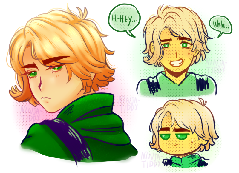 Ninjago Movie Lloyd Drawings Highschool By Yassdenswh Ninjago