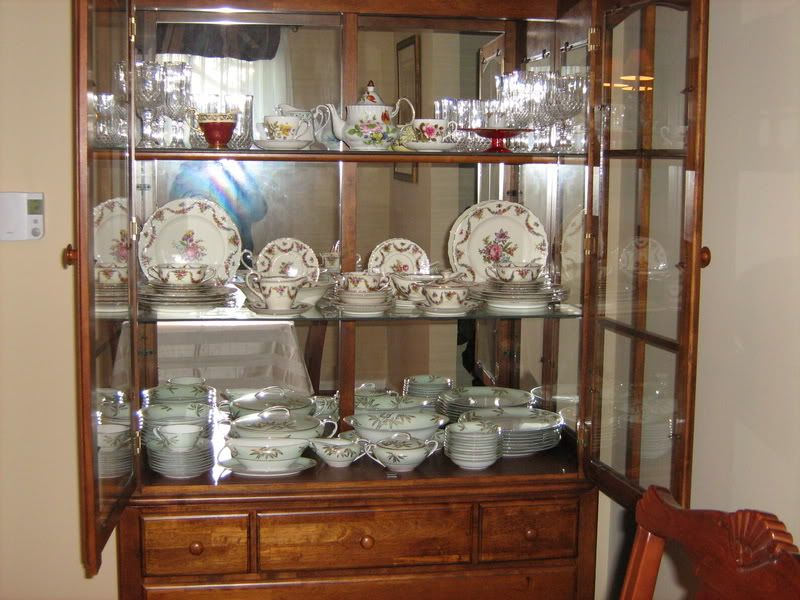 How To Decorate Victorian China Cabinet Many Pics China