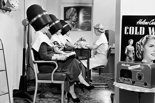 50s Hair Salon Vintage Beauty Salon Vintage Hair Salons Vintage Salon