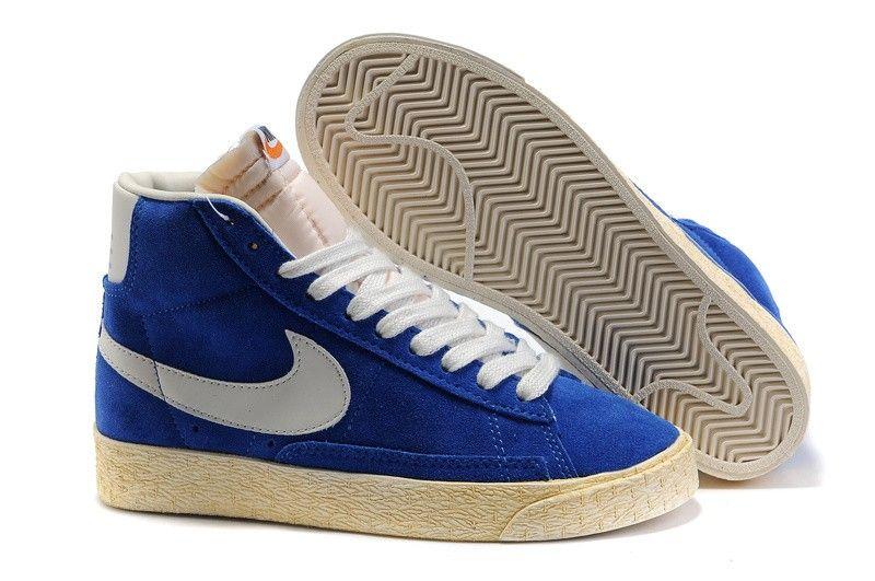 Chaussures Pas Homme Cher Nike Blazer High Peacock Homme Pas Bleu Snake Grain 9de464