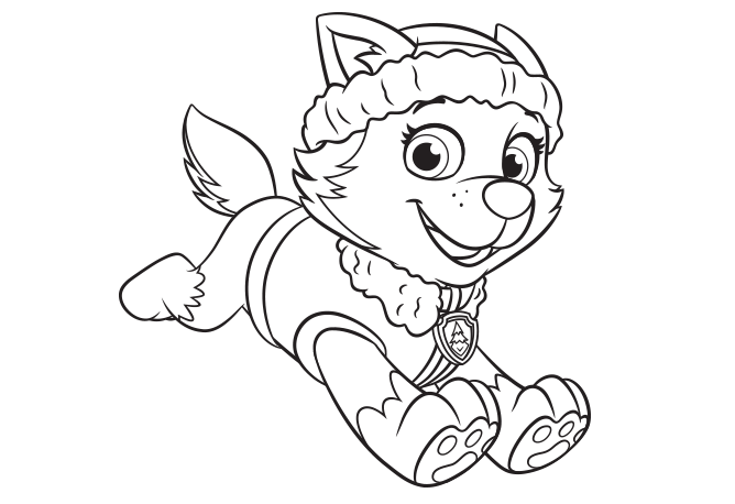 Nick Jr. Coloring and other paw patrol Printables | Coloring_Girls ...