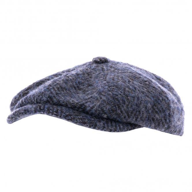 5b74a0a15aa Stetson - Hatteras Wool Bakerboy Cap - Blue