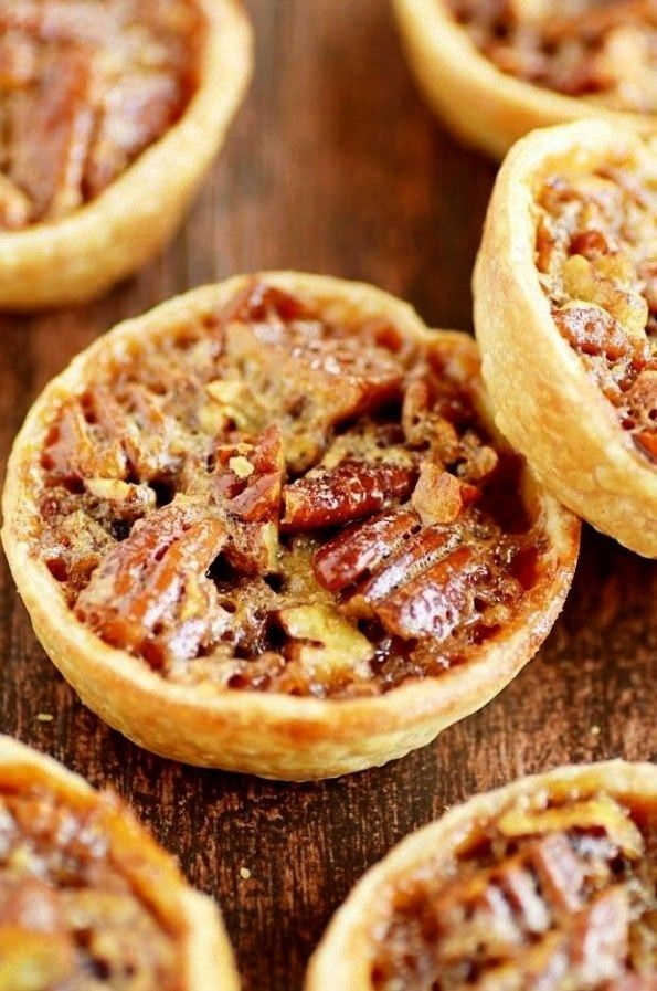 Unbelievable Pecan Dessert Recipes - Captain Decor Desserts Mini Pecan Pies33 Unbelievable Pecan De
