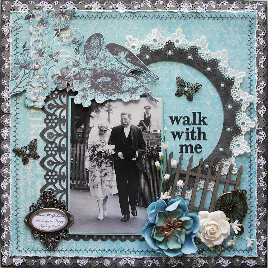 Scrapbook ideas about me - Walk With Me Scrapbook Com
