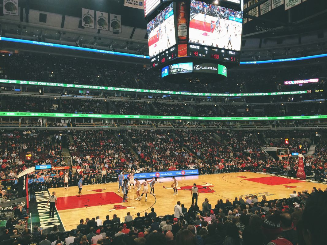 Chicago Bulls United Center Little